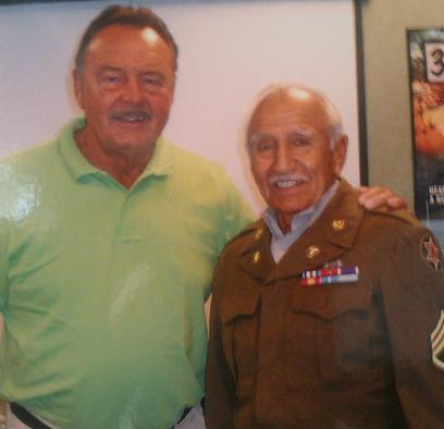 Dick Butkus, NFL Hall of Fame; Frank Ramirez, US Army-Korea Silver Star Recipient, Heart Scans for Veterans, Mexican American Veterans, Hispanic Veterans, Latino Veterans, Advocating for Health Care for Veterans