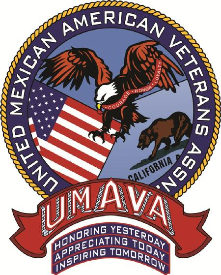 logo - UMAVA - the United Mexican-American Veterans Association, Advocating for all veterans, Hispanic Veterans, Latino Veterans, Ethnic Veterans, WWII, Korea, Vietnam, OEF, OIF