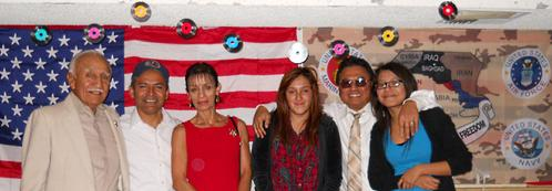 picture for UMAVA Christmas Party 2010, Francisco Paco Barragan, Latino Hispanic Veterans, Toy Drive